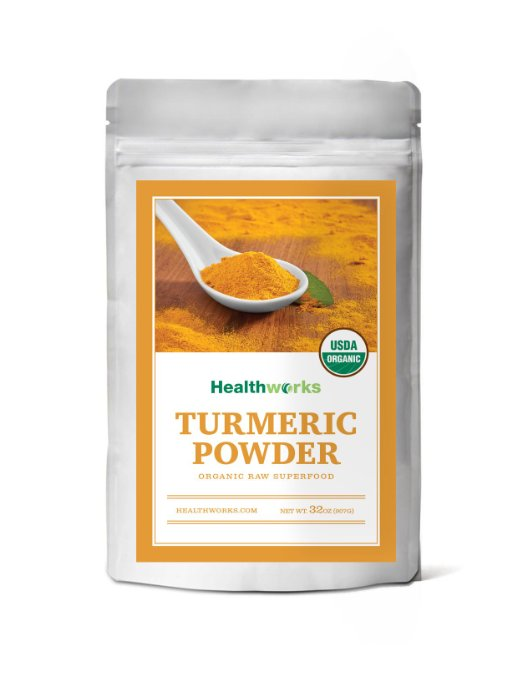 ADHD Medication Stay Healthy Raw Organic Turmeric Powder