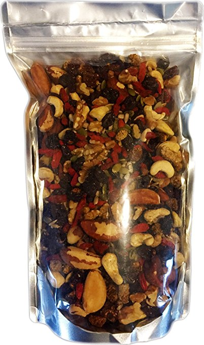ADHD Diet Raw Superfoods Trail Mix