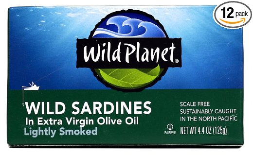 ADHD Diet Wild Caught Sardines