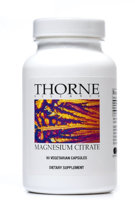 ADHD and Sleep Thorne Research Magnesium Citrate