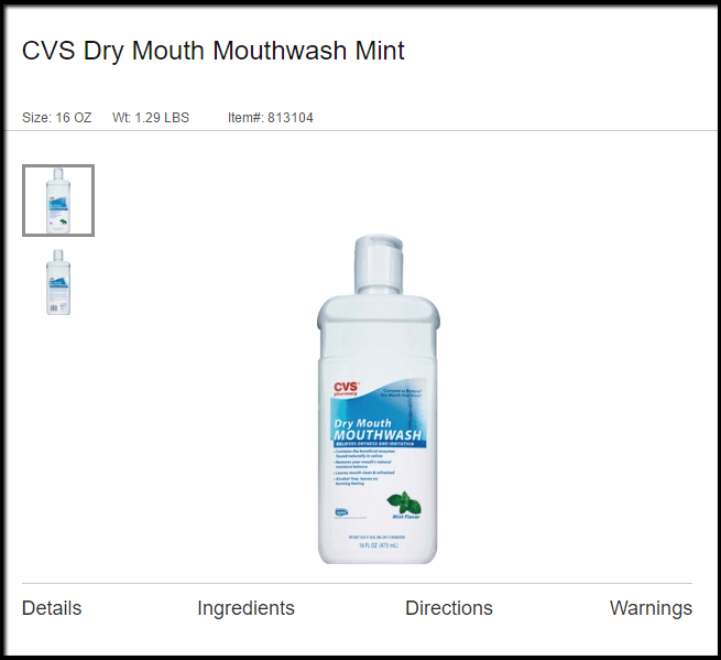 Vyvanse Side Effects Dry Mouth Mouthwash