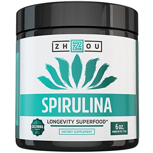 Treating adhd spirulina powder superfood