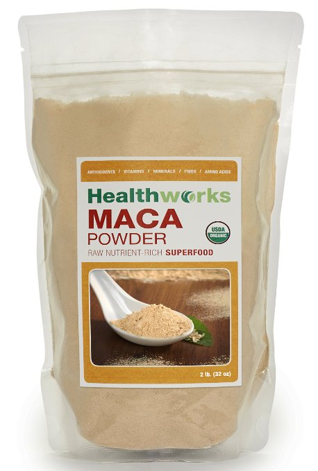 ADHD Herbs and Spices Raw Maca Root Powder