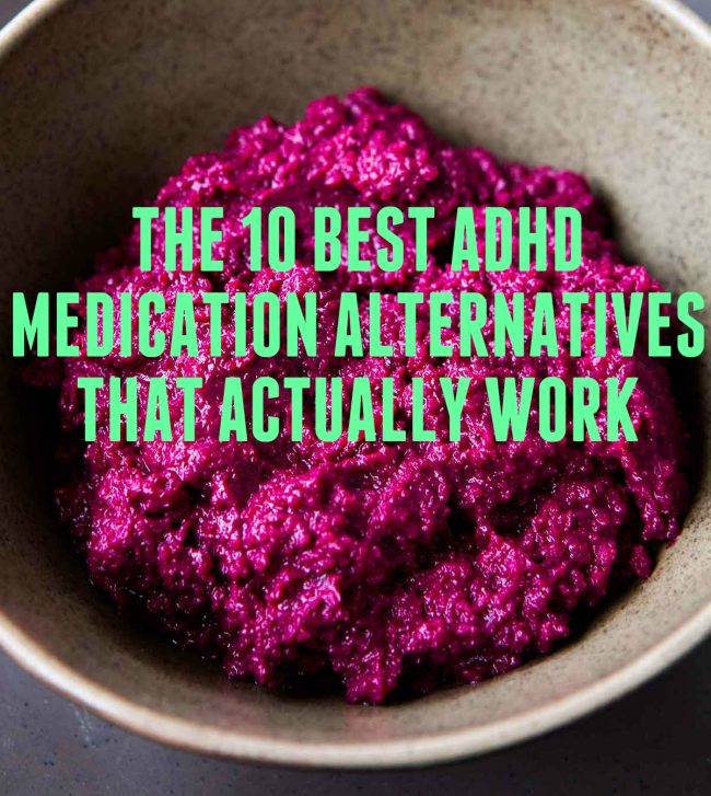 ADHD Medication Alternatives Featured Image