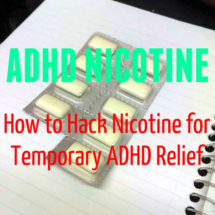 ADHD Nicotine - How to