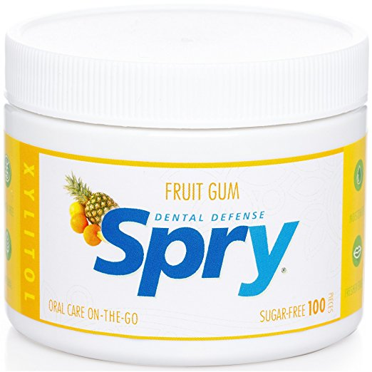 ADHD Sugar Free Diet Spry Fruit Chewing Gum