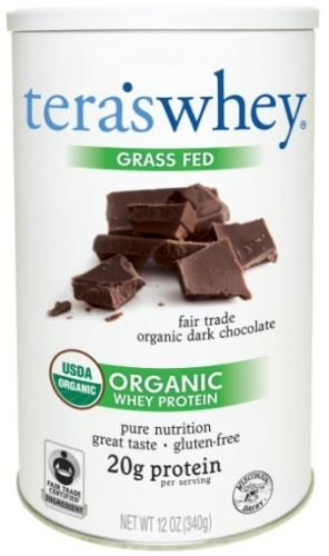 ADHD Sugar Free Diet Tera's Organic Chocolate Whey Protein Powder