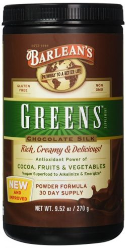 Natural Supplements For ADHD And Depression Barleans Greens Chocolate Silk