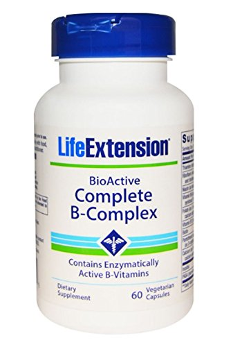 Natural Supplements For ADHD And Depression Life Extension Complete B Complex