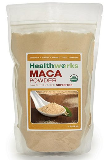 Natural Supplements For ADHD And Depression Raw Organic Maca Powder