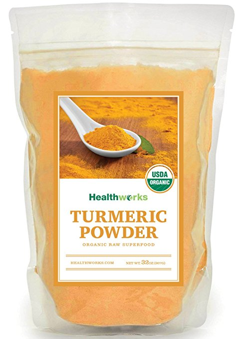 Treating ADHD and Depression Raw Organic Turmeric Powder