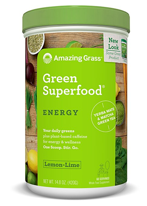 Natural Stimulants for ADHD Amazing Grass Green Energy