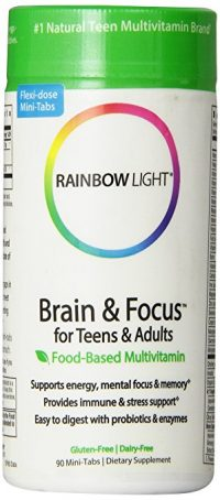Natural Stimulants for ADHD Rainbow Light Brain and Focus
