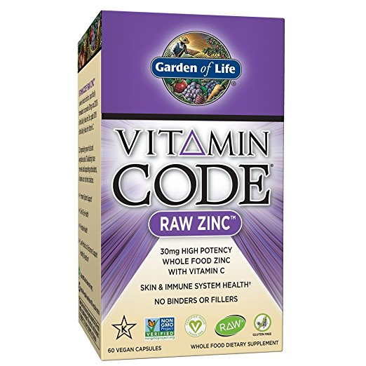 Zinc for ADHD Vitamin Code Raw Zinc