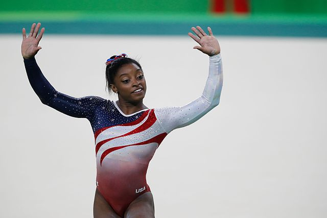 Celebrities with ADHD Simone Biles