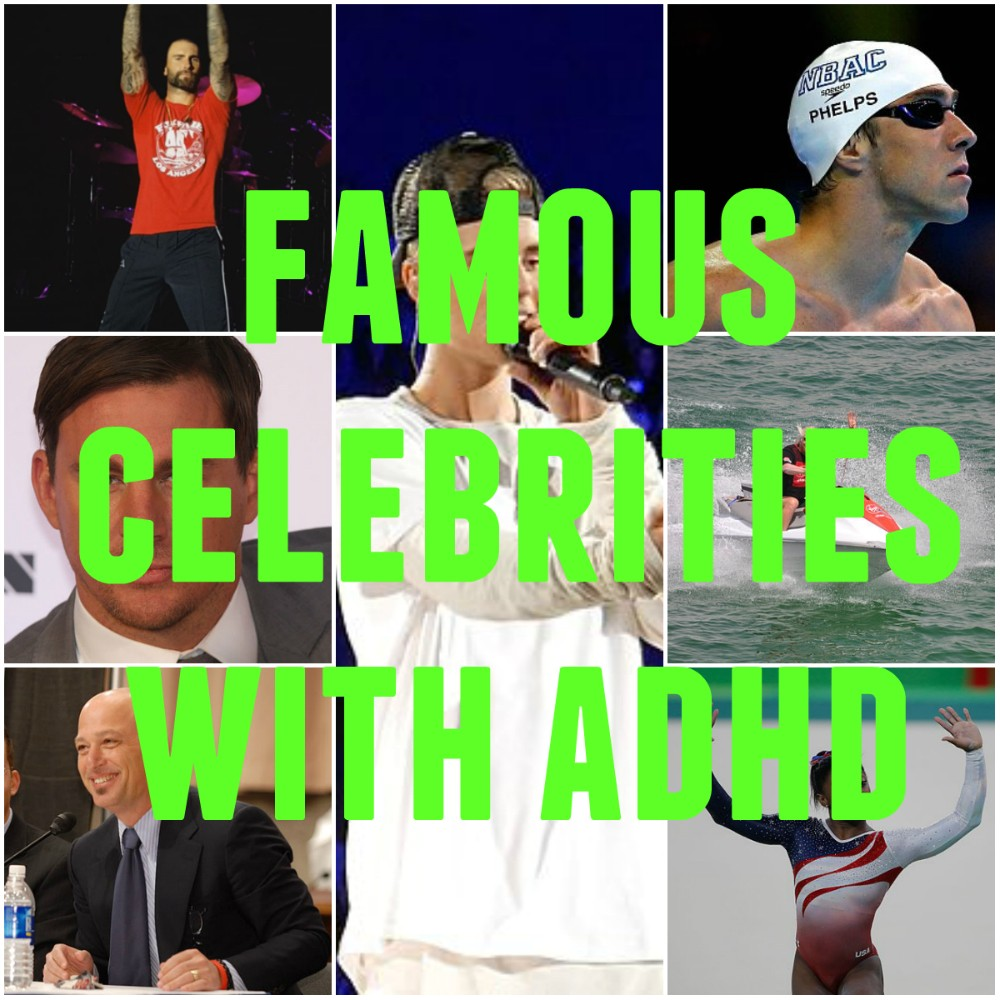 Famous People with ADHD: ADD Celebrities Like Justin ...