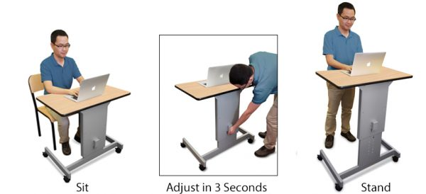 Stand Up Desks for ADHD Marvel Focus Desk XT