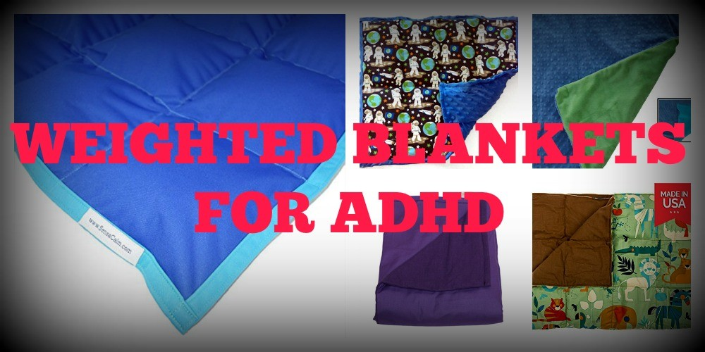 Weighted Blankets for ADHD Featured Collage