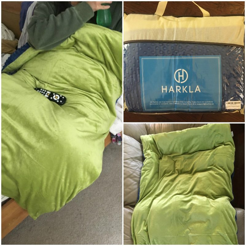Weighted Blankets for ADHD Harkla Blanket Collage