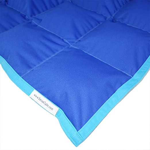 Weighted Blankets for ADHD SensaCalm Small Therapeutic Weighted Blanket