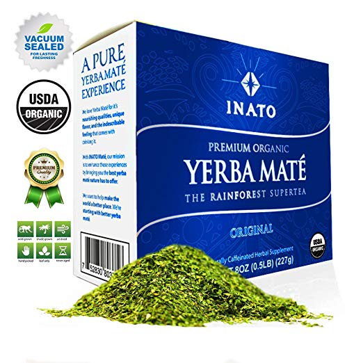 ADHD and Caffeine Yerba Mate INATO