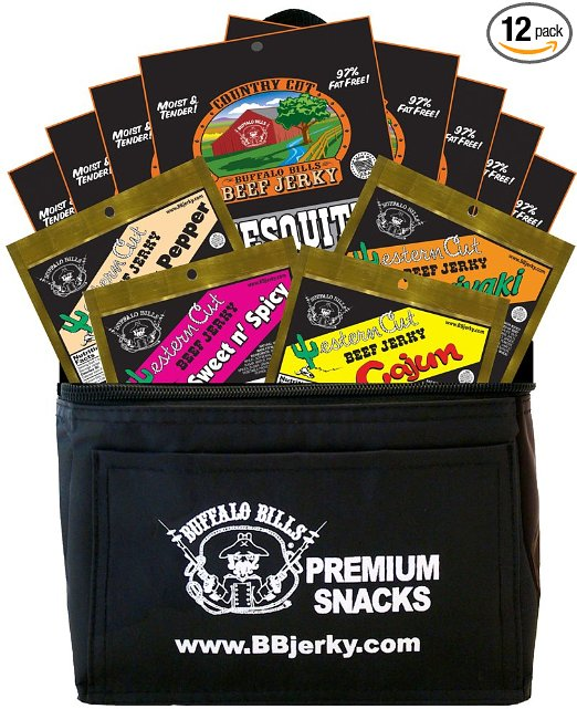 Gifts for People with ADHD Buffalo Bills Beef Jerky