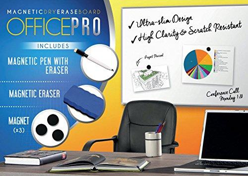 ADHD Organizers OfficePro 24x36 Inch Magnetic Dry Erase Board