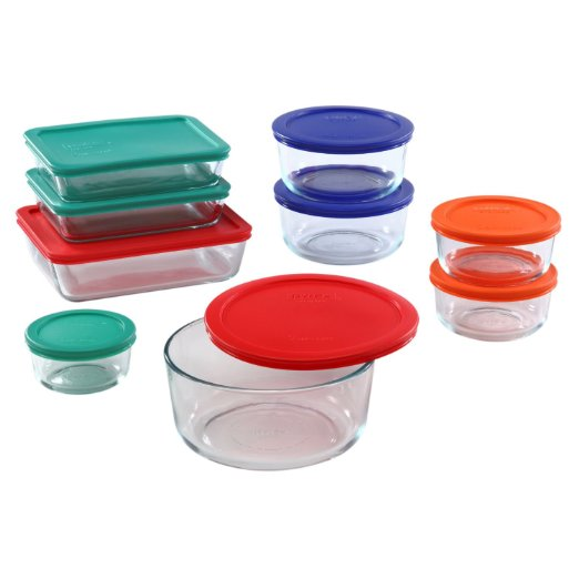 ADHD Organizers Pyrex 18 Piece Simply Food Storage Set