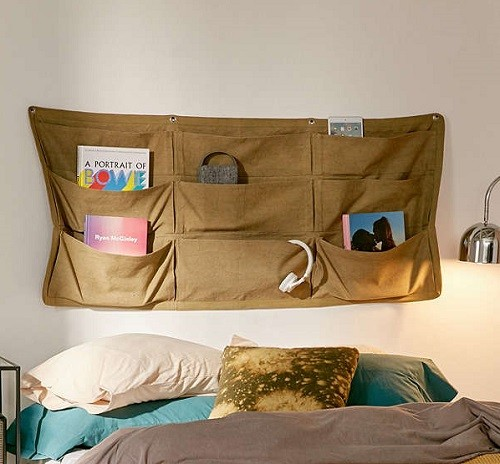 ADHD Organizers Urban Outfitters Canvas Wall Pocket Storage