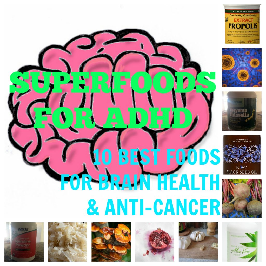 Superfoods for ADHD 10 Best Foods for Brain Health Anti-Cancer Featured Image