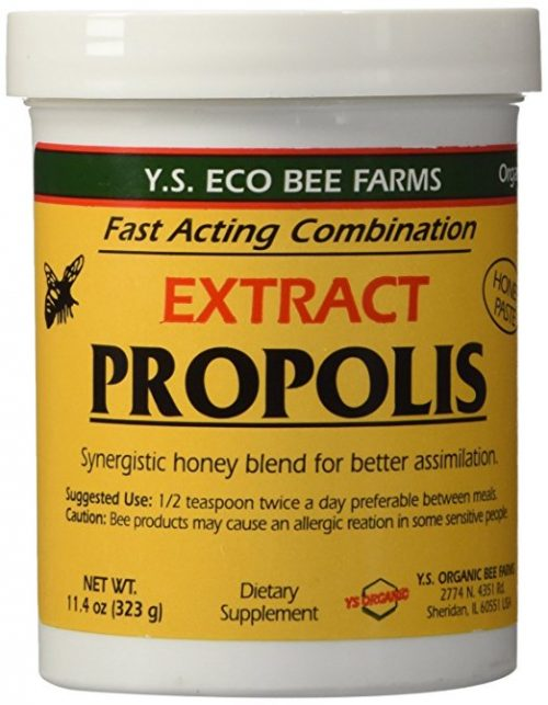 Superfoods for ADHD Y.S. Eco Bee Farm Propolis Extract in Honey