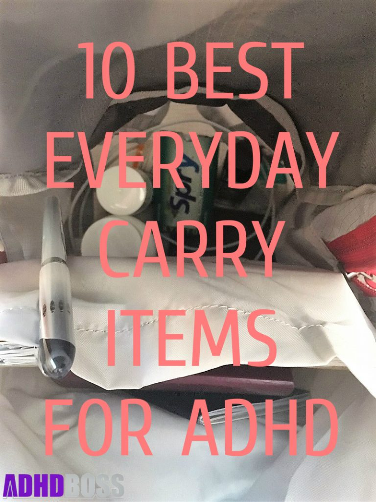10 Best Everyday Carry Items for ADHD EDC Featured Image