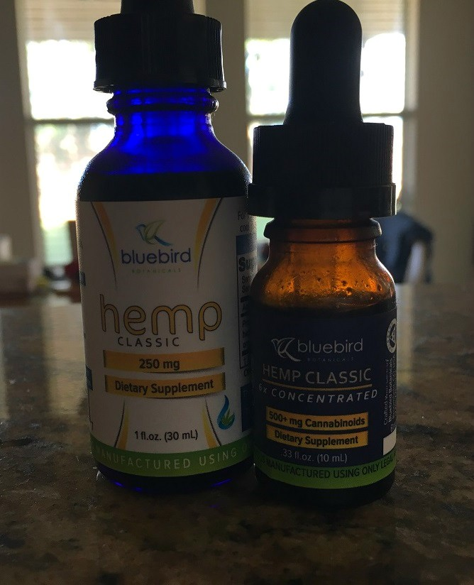 CBD Oil for ADHD Bluebird Botanicals Review Hemp Classic and Hemp Classic 6x