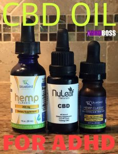 CBD Oil for ADHD Featured Image With Logo