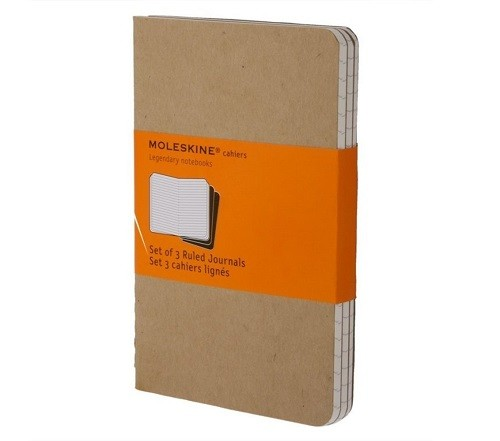 Everyday Carry Items for ADHD EDC Moleskine Cahier Journal Set of Three