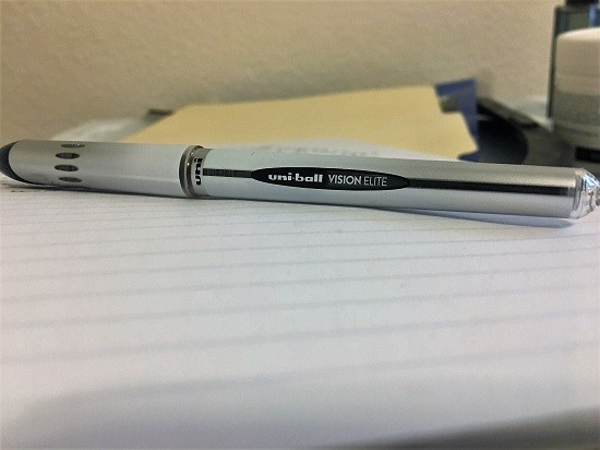 Everyday Carry Items for ADHD EDC Uni-Ball Vision Elite Rollerball Pens
