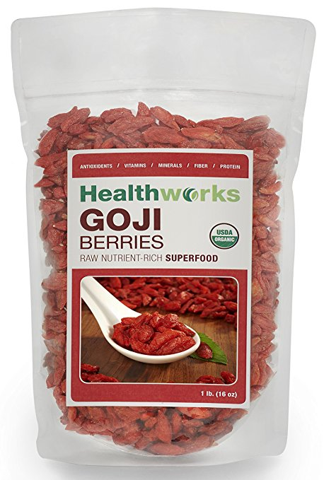 Fruits and Vegetables for ADHD Raw Organic Goji Berries