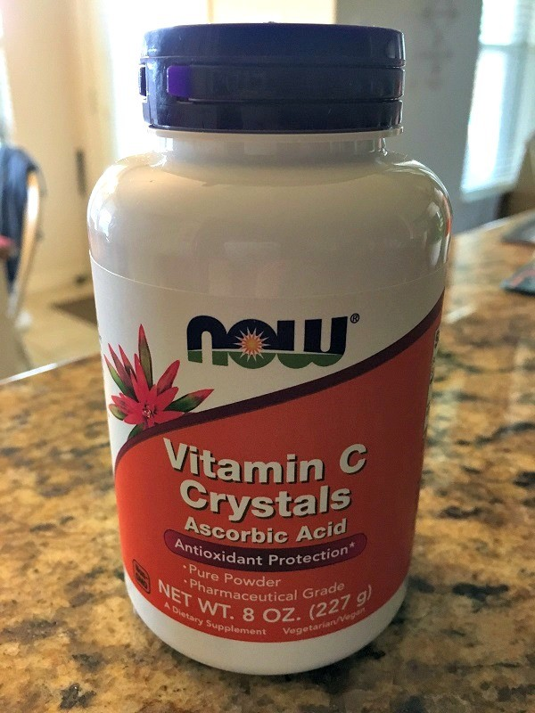 Vitamin C for Anxiety Now Foods Vitamin C Crystals Review