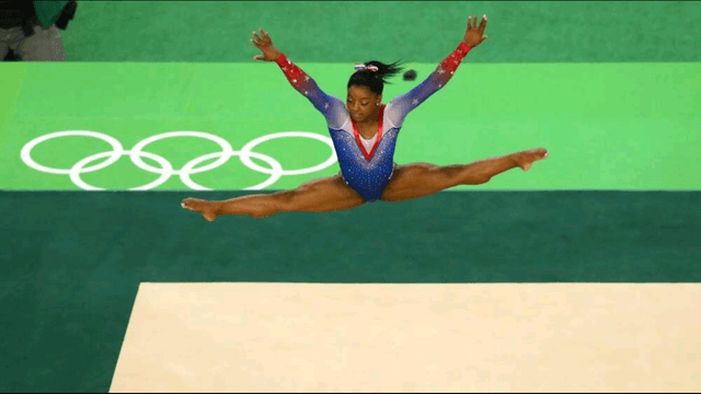 ADHD Awareness Month Professional Athlete with ADHD Simone Biles