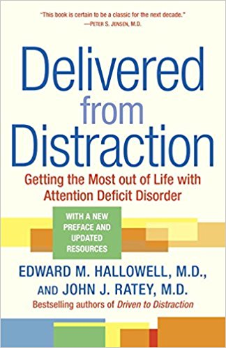 Best Books for People WIth ADHD Delivered from Distraction
