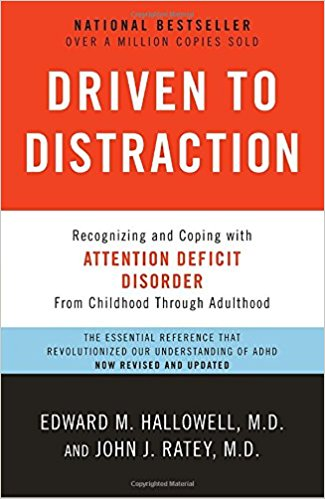 Best Books for People WIth ADHD Driven to Distraction