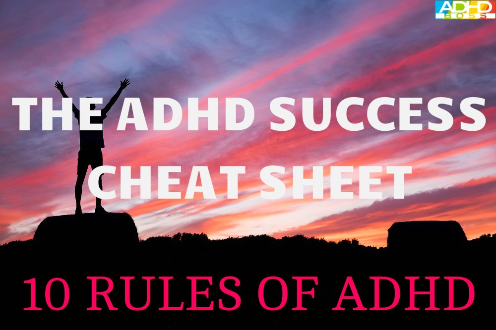 ADHD Success Cheat Sheet Featured Image New
