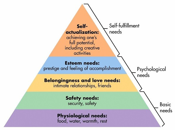 ADHD Success Cheat Sheet Maslow Hierarchy of Needs