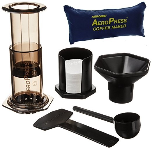 Holiday Buyers Guide for People With ADHD 2017 Edition AeroPress Coffee and Espresso Maker with Tote Bag
