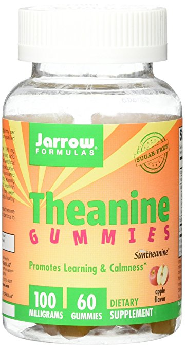 L-Theanine for ADHD Jarrow Formulas Theanine Gummies