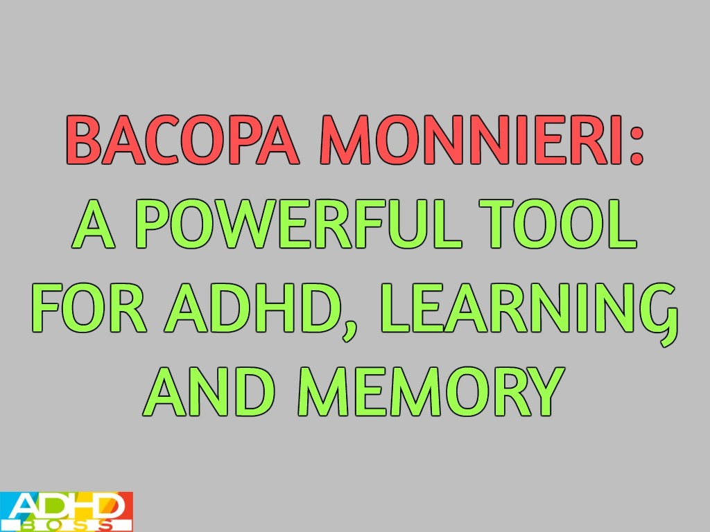 Bacopa Monnieri ADHD Featured Image