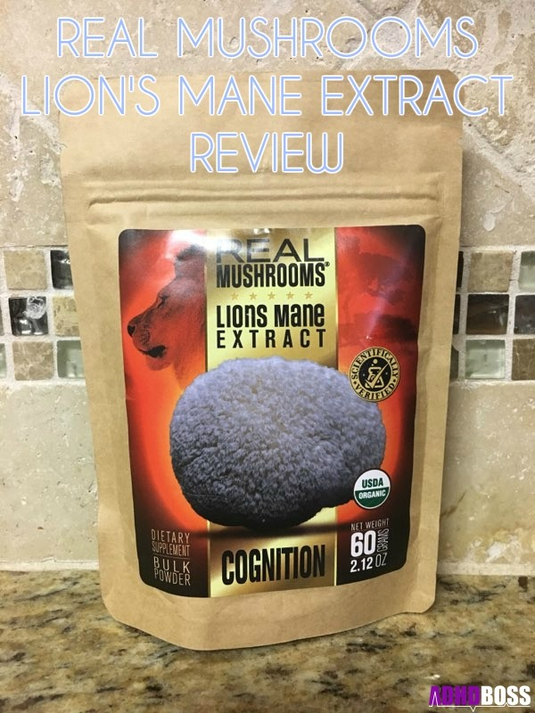 Real Mushrooms Lions Mane Extract Review Featured Image