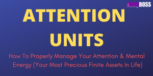 Attention Units ADHD Boss Featured Image