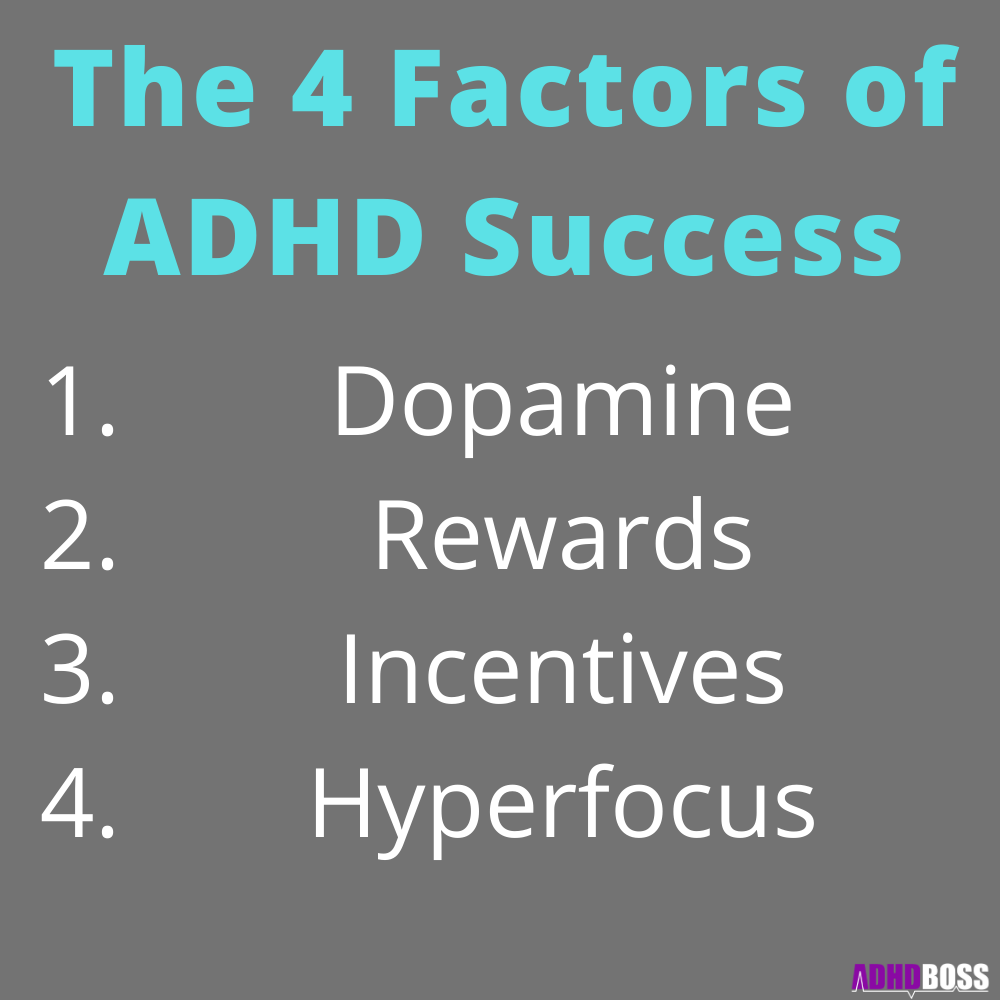 The 4 Factors of ADHD Success