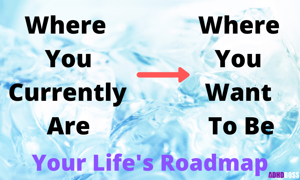 Where You Currently Are Vs. Where You Want To Be ADHD Boss